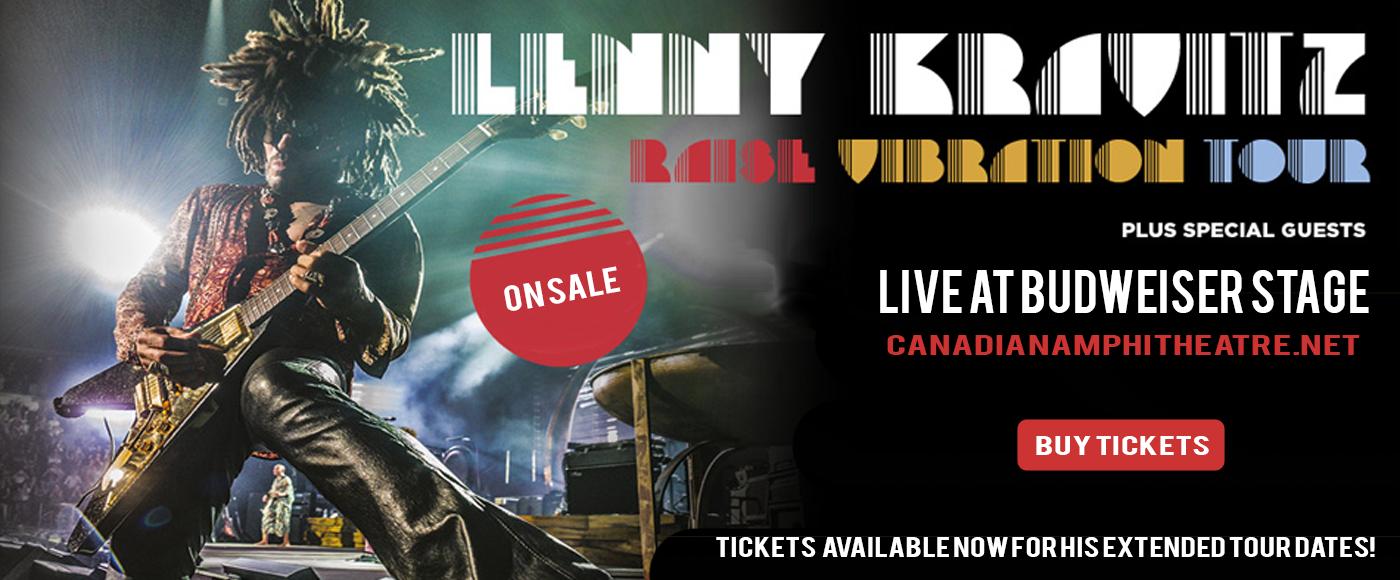 Lenny Kravitz at Budweiser Stage