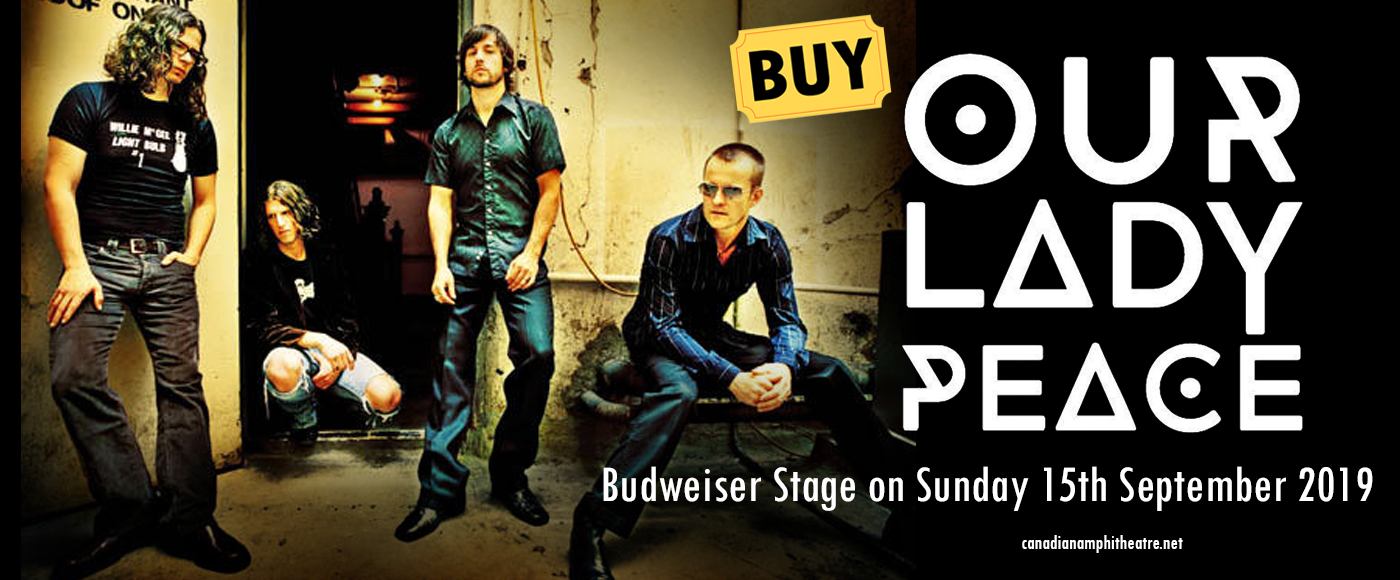 Our Lady Peace at Budweiser Stage