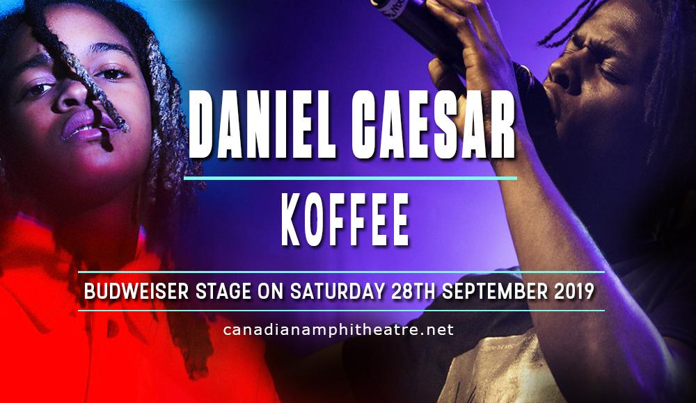 Daniel Caesar & Koffee at Budweiser Stage