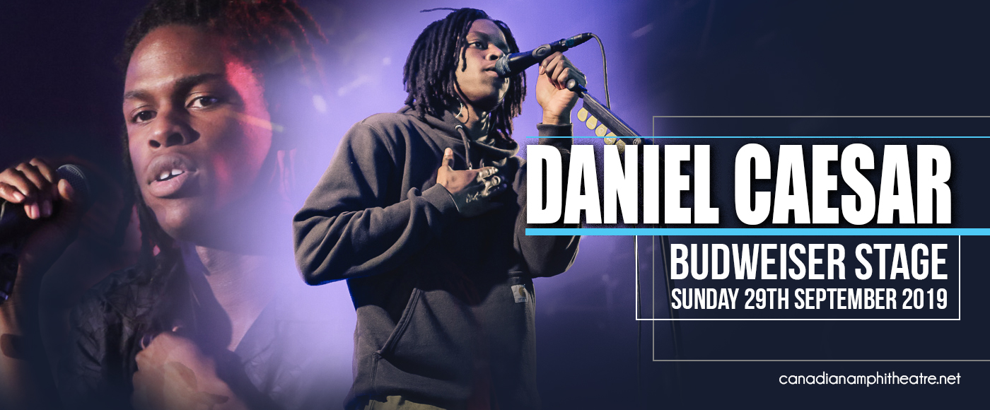 Daniel Caesar at Budweiser Stage