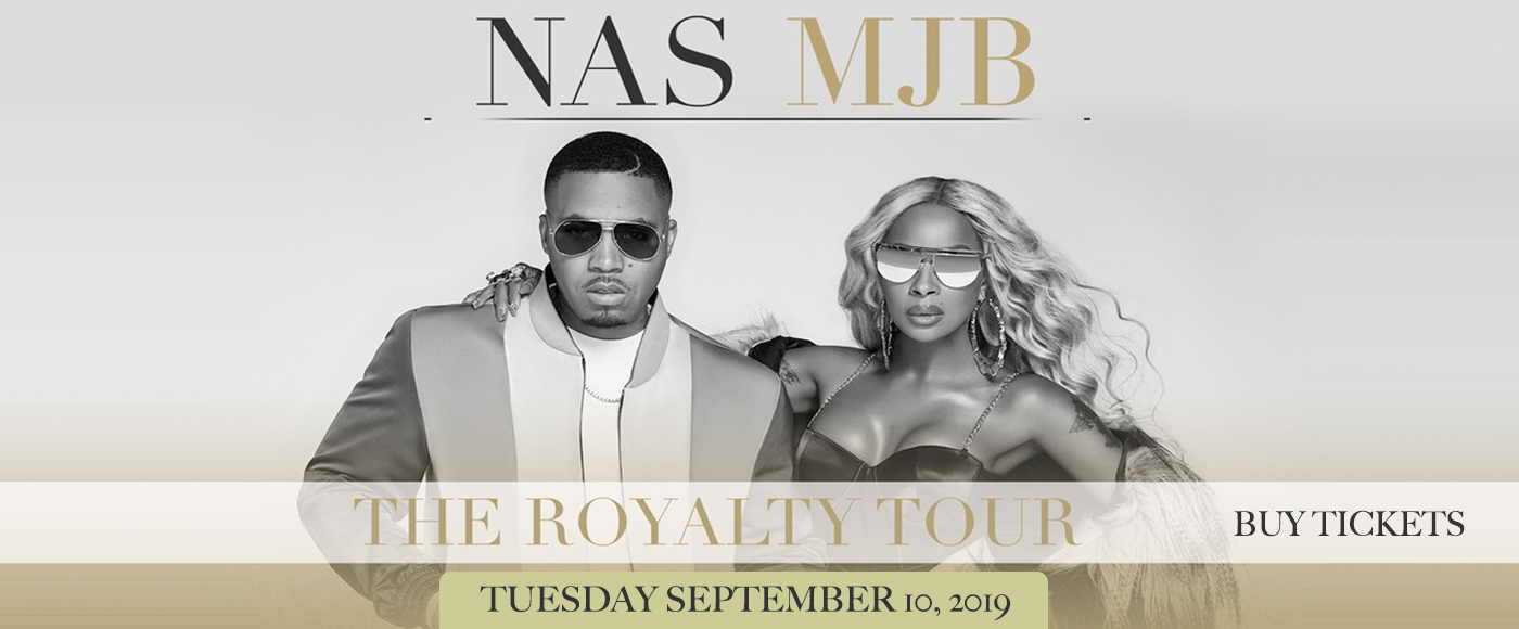 Mary J. Blige & Nas at Budweiser Stage