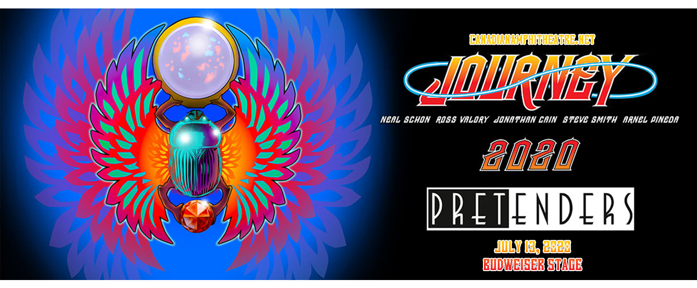Journey & The Pretenders at Budweiser Stage