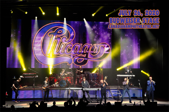Chicago - The Band & Rick Springfield at Budweiser Stage