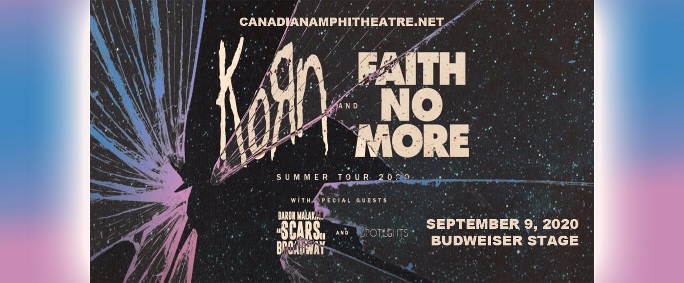 Korn, Faith No More, Helmet & '68 at Budweiser Stage