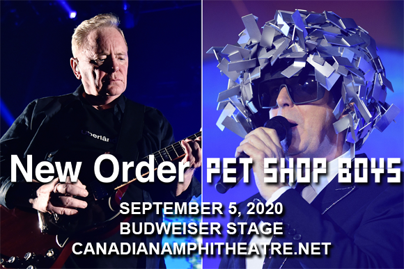 New Order & Pet Shop Boys at Budweiser Stage