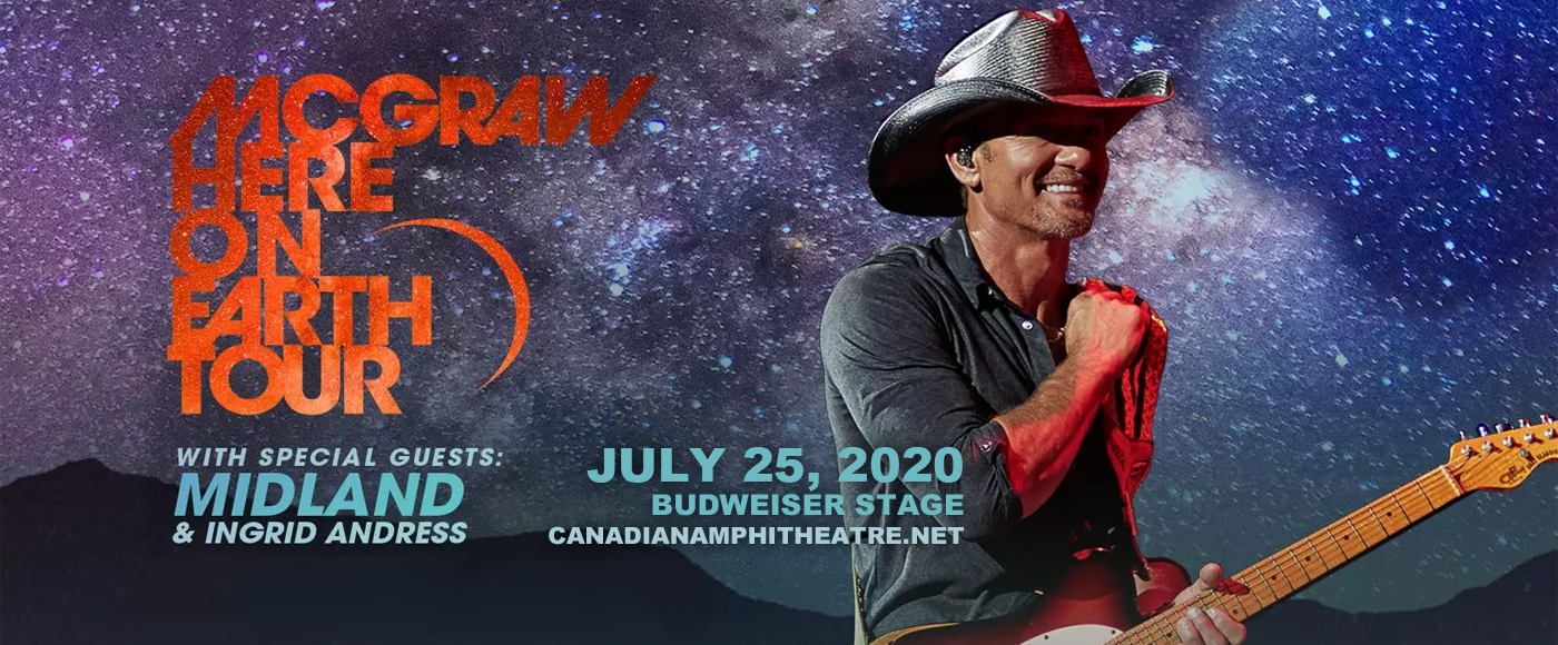 Tim McGraw at Budweiser Stage