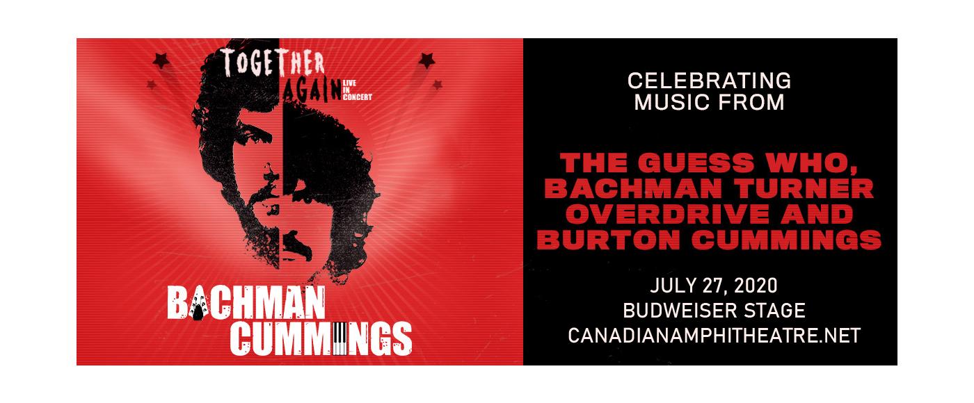 Randy Bachman & Burton Cummings at Budweiser Stage