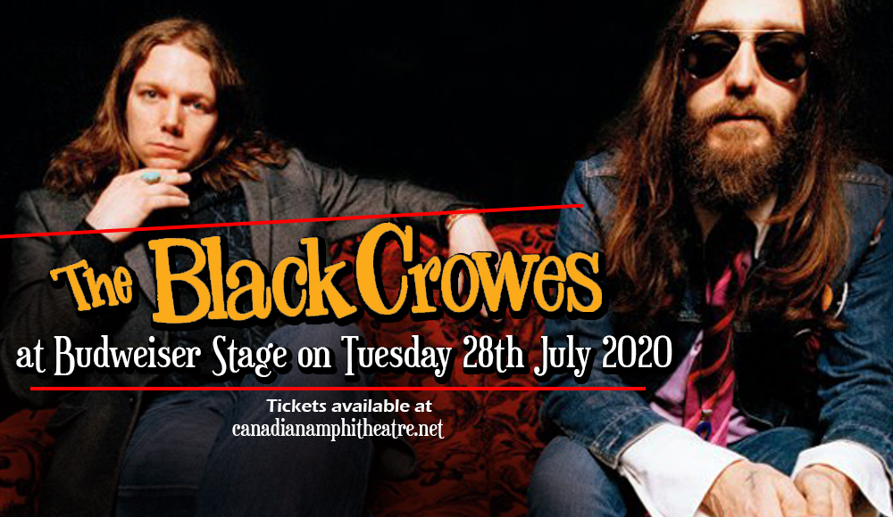 The Black Crowes [POSTPONED] at Budweiser Stage