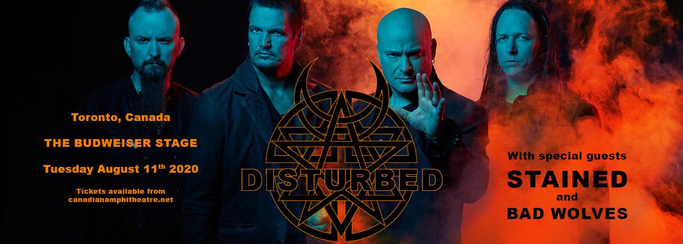 Disturbed, Staind & Bad Wolves [POSTPONED] at Budweiser Stage