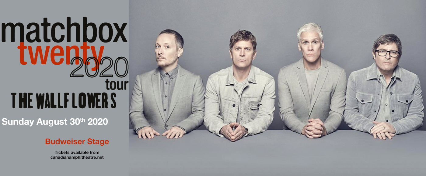 Matchbox Twenty & The Wallflowers [POSTPONED] at Budweiser Stage