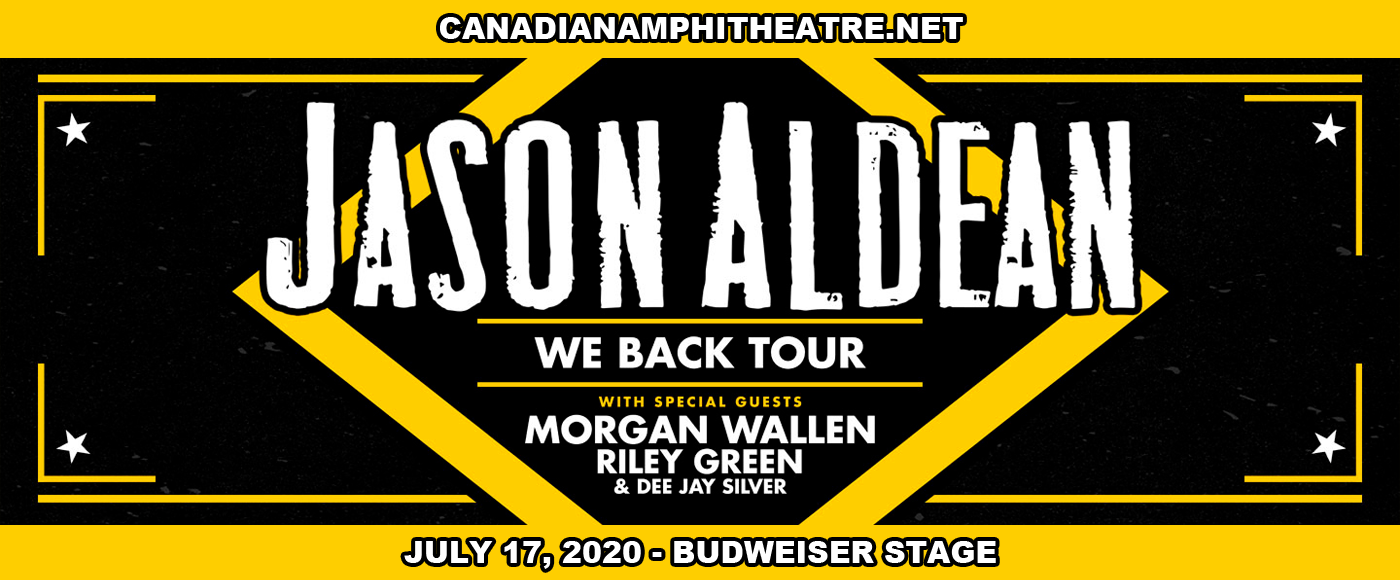 Jason Aldean, Brett Young, Mitchell Tenpenny & Dee Jay Silver [CANCELLED] at Budweiser Stage