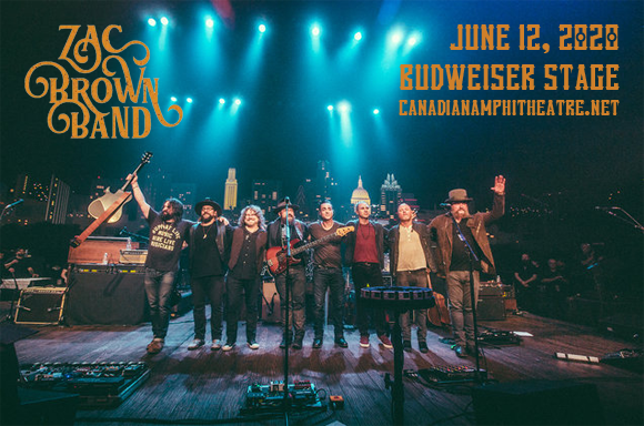 Zac Brown Band [CANCELLED] at Budweiser Stage