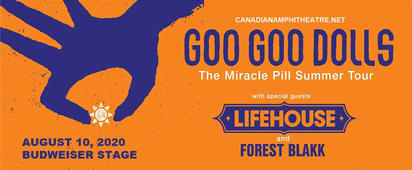 Goo Goo Dolls & Lifehouse at Budweiser Stage
