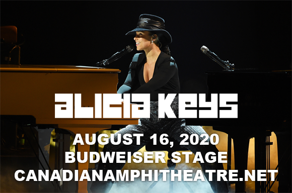 Alicia Keys at Budweiser Stage