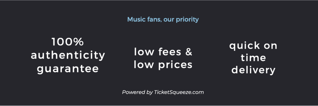 budweiser stage ticket policy
