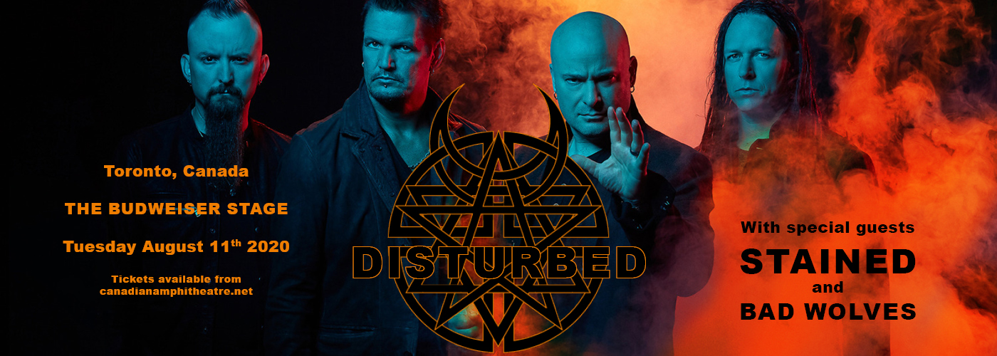 Disturbed, Staind & Bad Wolves [CANCELLED] at Budweiser Stage