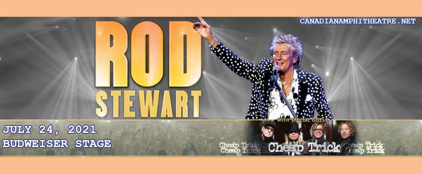 Rod Stewart & Cheap Trick at Budweiser Stage