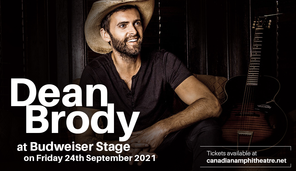 Dean Brody at Budweiser Stage
